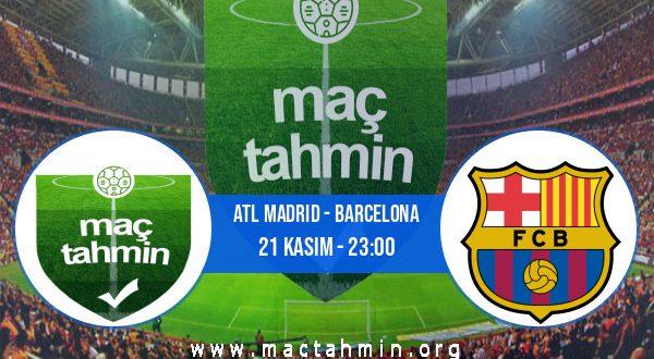 Atl Madrid - Barcelona İddaa Analizi ve Tahmini 21 Kasım 2020