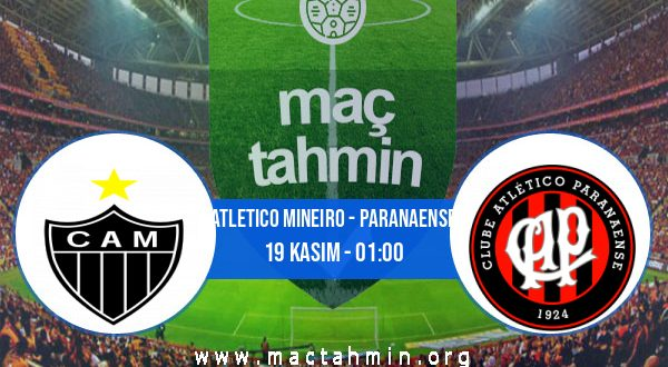 Atletico Mineiro - Paranaense İddaa Analizi ve Tahmini 19 Kasım 2020
