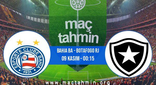 Bahia BA - Botafogo RJ İddaa Analizi ve Tahmini 09 Kasım 2020