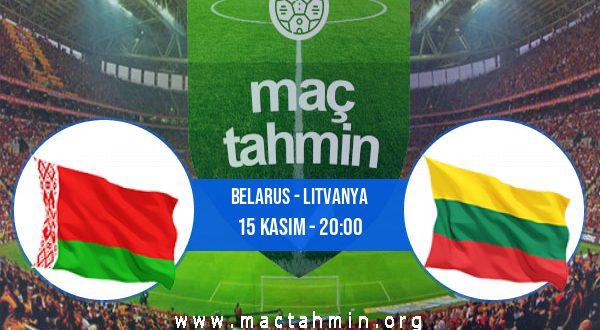 Belarus - Litvanya İddaa Analizi ve Tahmini 15 Kasım 2020