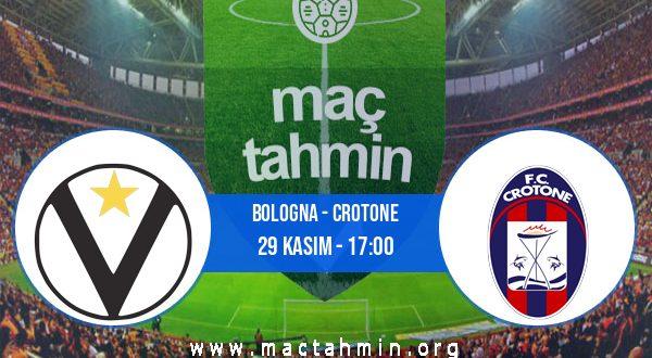 Bologna - Crotone İddaa Analizi ve Tahmini 29 Kasım 2020