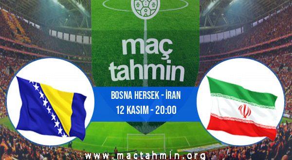 Bosna Hersek - İran İddaa Analizi ve Tahmini 12 Kasım 2020