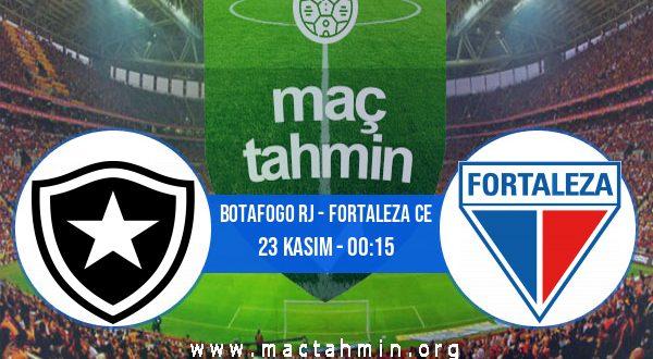 Botafogo RJ - Fortaleza CE İddaa Analizi ve Tahmini 23 Kasım 2020