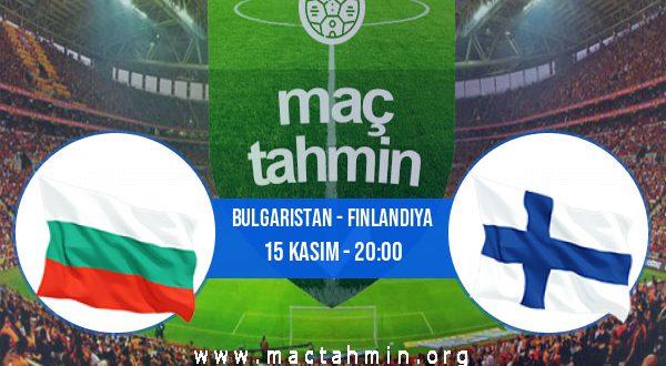 Bulgaristan - Finlandiya İddaa Analizi ve Tahmini 15 Kasım 2020