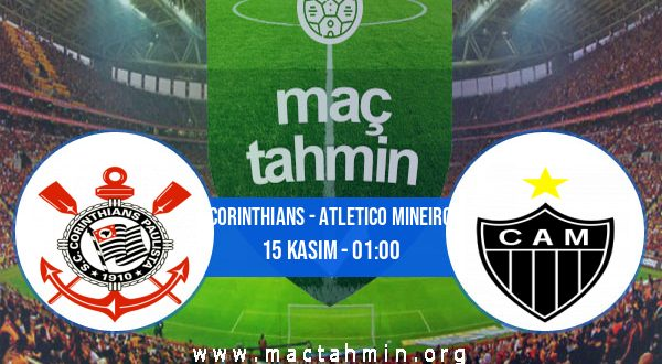 Corinthians - Atletico Mineiro İddaa Analizi ve Tahmini 15 Kasım 2020