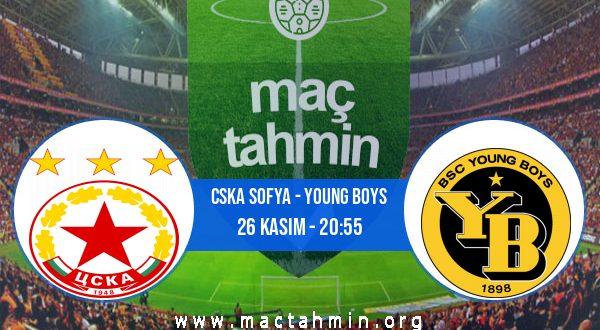 CSKA Sofya - Young Boys İddaa Analizi ve Tahmini 26 Kasım 2020