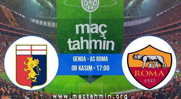 Genoa - AS Roma İddaa Analizi ve Tahmini 08 Kasım 2020