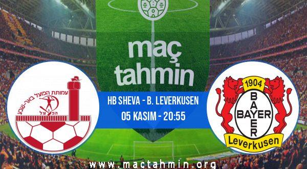 HB Sheva - B. Leverkusen İddaa Analizi ve Tahmini 05 Kasım 2020