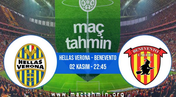 Hellas Verona - Benevento İddaa Analizi ve Tahmini 02 Kasım 2020