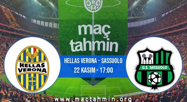 Hellas Verona - Sassuolo İddaa Analizi ve Tahmini 22 Kasım 2020