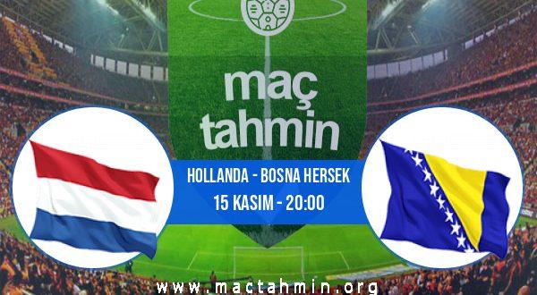 Hollanda - Bosna Hersek İddaa Analizi ve Tahmini 15 Kasım 2020