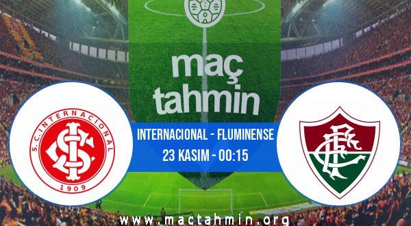 Internacional - Fluminense İddaa Analizi ve Tahmini 23 Kasım 2020