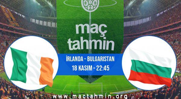 İrlanda - Bulgaristan İddaa Analizi ve Tahmini 18 Kasım 2020