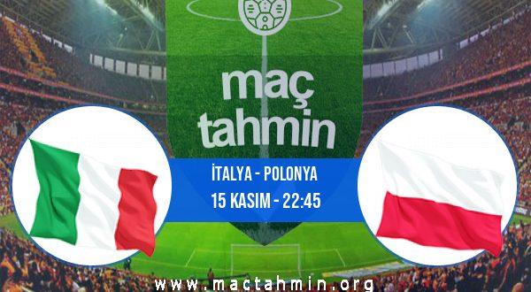 İtalya - Polonya İddaa Analizi ve Tahmini 15 Kasım 2020