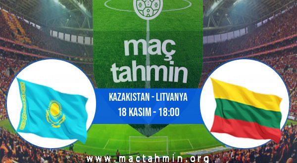 Kazakistan - Litvanya İddaa Analizi ve Tahmini 18 Kasım 2020