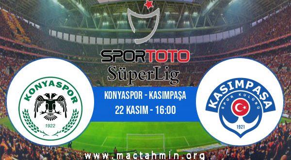 Konyaspor - Kasımpaşa İddaa Analizi ve Tahmini 22 Kasım 2020