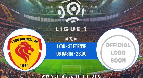 Lyon - St Etienne İddaa Analizi ve Tahmini 08 Kasım 2020