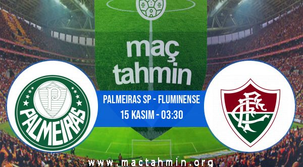 Palmeiras SP - Fluminense İddaa Analizi ve Tahmini 15 Kasım 2020