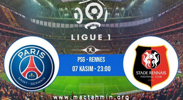 PSG - Rennes İddaa Analizi ve Tahmini 07 Kasım 2020