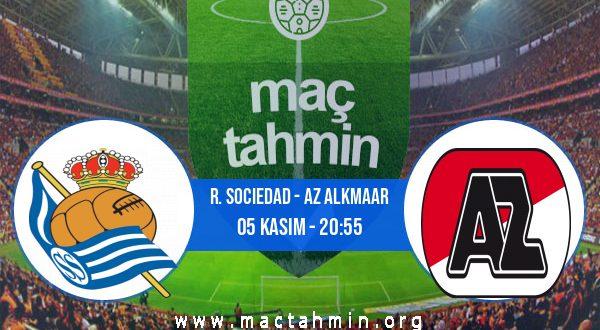 R. Sociedad - AZ Alkmaar İddaa Analizi ve Tahmini 05 Kasım 2020