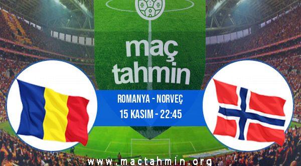 Romanya - Norveç İddaa Analizi ve Tahmini 15 Kasım 2020