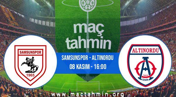 Samsunspor - Altınordu İddaa Analizi ve Tahmini 08 Kasım 2020