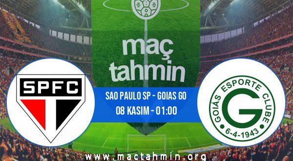 Sao Paulo SP - Goias GO İddaa Analizi ve Tahmini 08 Kasım 2020