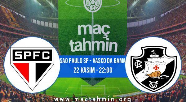 Sao Paulo SP - Vasco Da Gama İddaa Analizi ve Tahmini 22 Kasım 2020