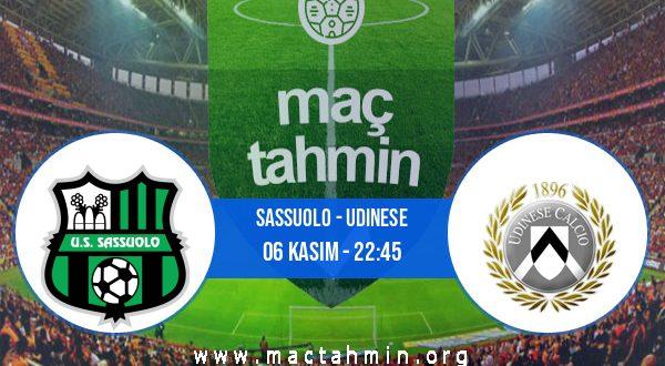 Sassuolo - Udinese İddaa Analizi ve Tahmini 06 Kasım 2020
