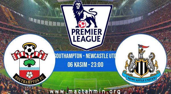 Southampton - Newcastle Utd İddaa Analizi ve Tahmini 06 Kasım 2020