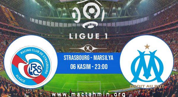 Strasbourg - Marsilya İddaa Analizi ve Tahmini 06 Kasım 2020