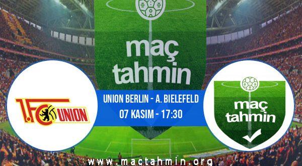 Union Berlin - A. Bielefeld İddaa Analizi ve Tahmini 07 Kasım 2020