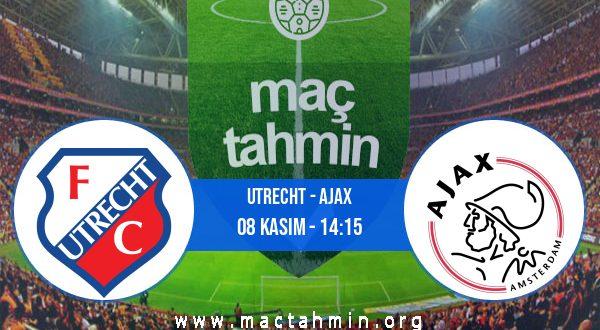 Utrecht - Ajax İddaa Analizi ve Tahmini 08 Kasım 2020