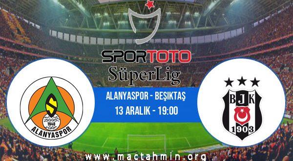 Alanyaspor - Beşiktaş İddaa Analizi ve Tahmini 13 Aralık 2020