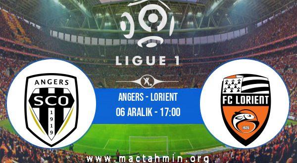 Angers - Lorient İddaa Analizi ve Tahmini 06 Aralık 2020