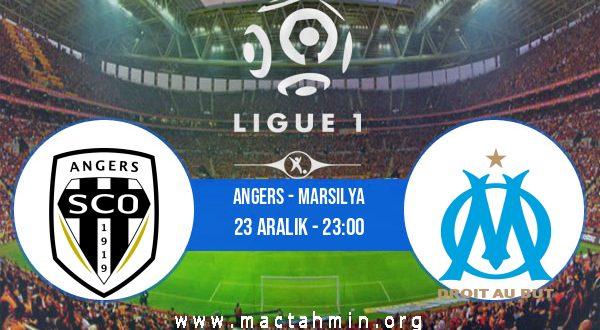 Angers - Marsilya İddaa Analizi ve Tahmini 23 Aralık 2020