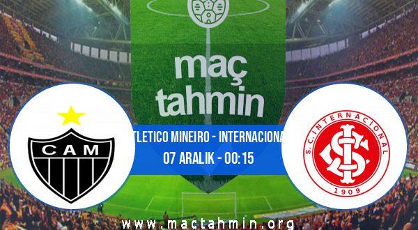 Atletico Mineiro - Internacional İddaa Analizi ve Tahmini 07 Aralık 2020