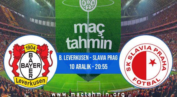 B. Leverkusen - Slavia Prag İddaa Analizi ve Tahmini 10 Aralık 2020