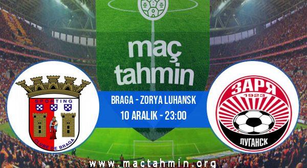 Braga - Zorya Luhansk İddaa Analizi ve Tahmini 10 Aralık 2020