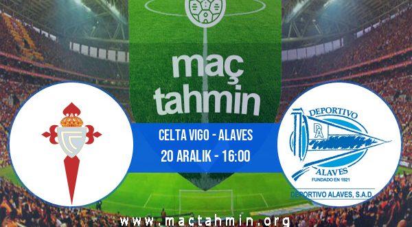 Celta Vigo - Alaves İddaa Analizi ve Tahmini 20 Aralık 2020