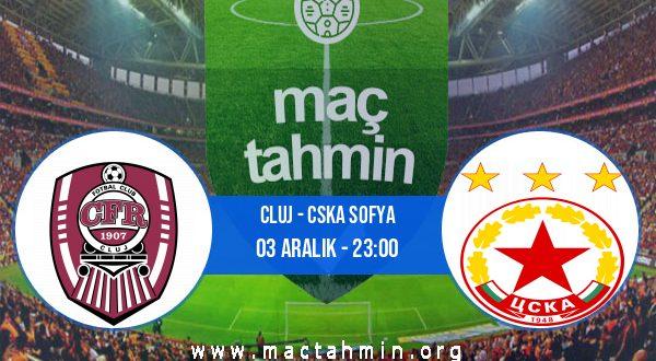 Cluj - CSKA Sofya İddaa Analizi ve Tahmini 03 Aralık 2020