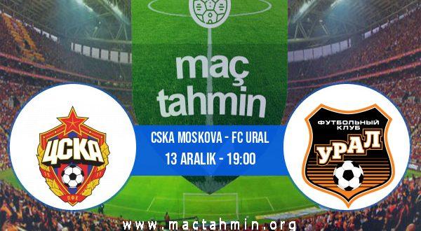 CSKA Moskova - FC Ural İddaa Analizi ve Tahmini 13 Aralık 2020