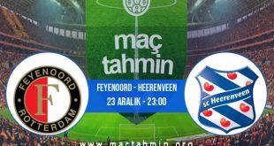 Feyenoord - Heerenveen İddaa Analizi ve Tahmini 23 Aralık 2020