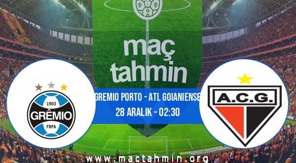 Gremio Porto - Atl Goianiense İddaa Analizi ve Tahmini 28 Aralık 2020
