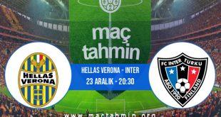 Hellas Verona - Inter İddaa Analizi ve Tahmini 23 Aralık 2020