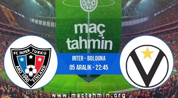 Inter - Bologna İddaa Analizi ve Tahmini 05 Aralık 2020