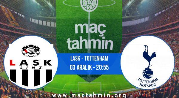 LASK - Tottenham İddaa Analizi ve Tahmini 03 Aralık 2020