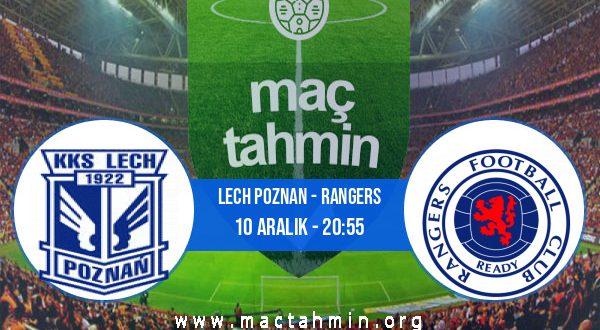 Lech Poznan - Rangers İddaa Analizi ve Tahmini 10 Aralık 2020