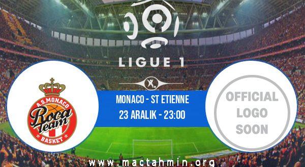 Monaco - St Etienne İddaa Analizi ve Tahmini 23 Aralık 2020