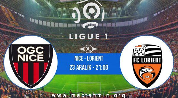 Nice - Lorient İddaa Analizi ve Tahmini 23 Aralık 2020